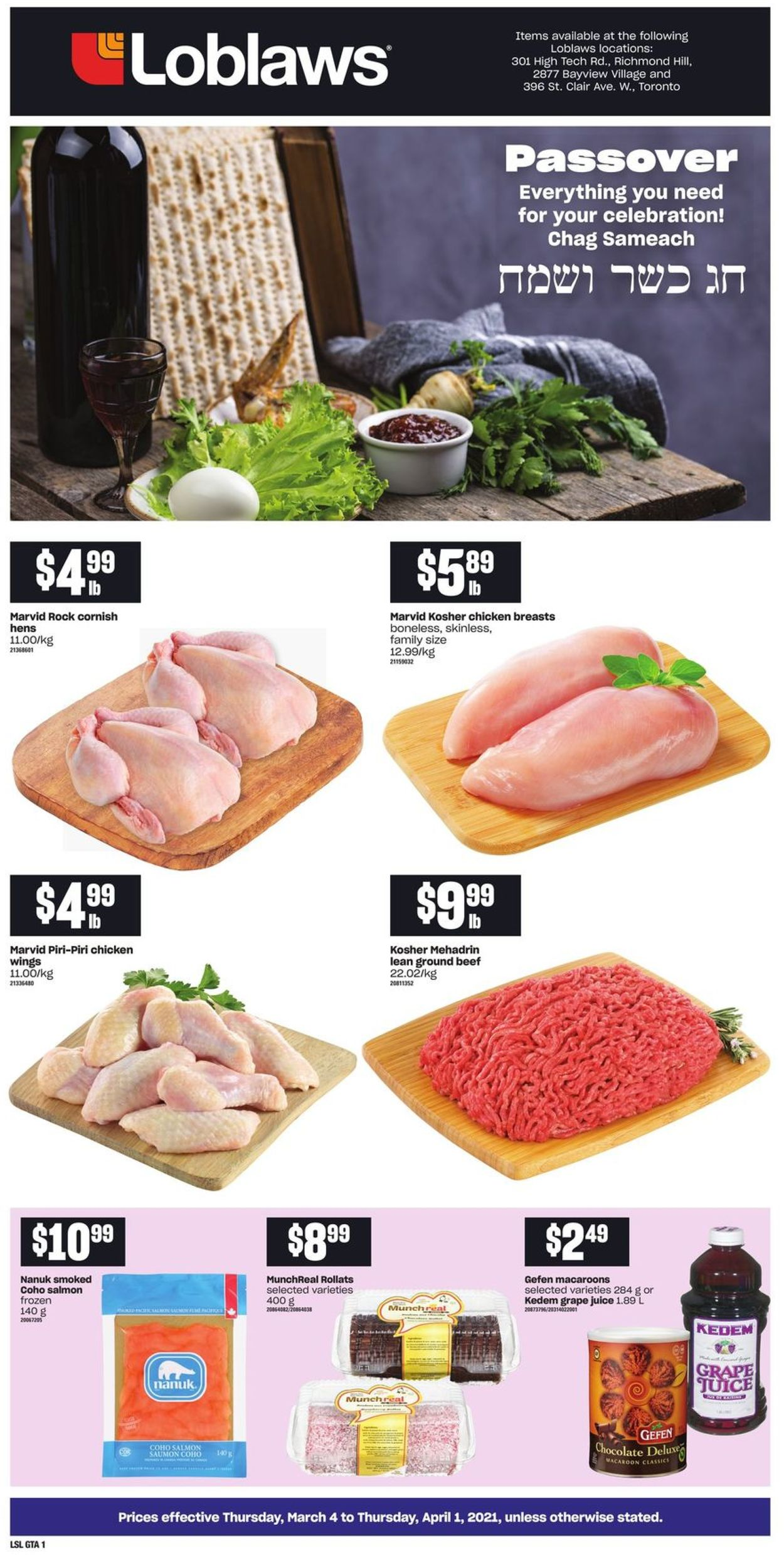 Loblaws Flyer - 03/04-04/01/2021