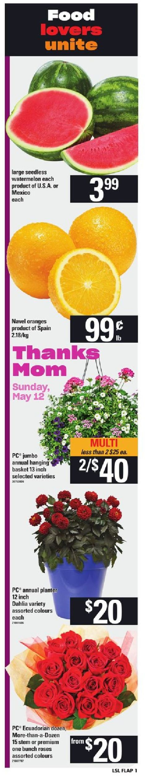 Loblaws Flyer - 05/09-05/15/2019