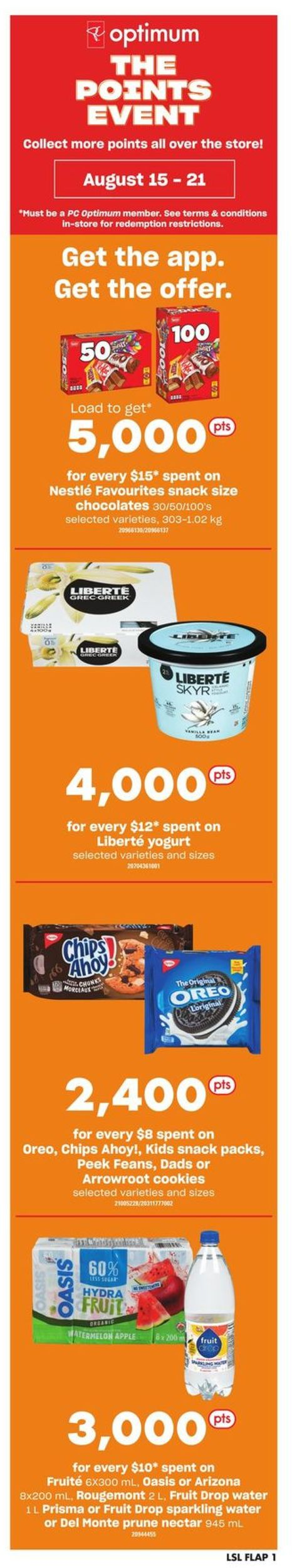 Loblaws Flyer - 08/15-08/21/2019