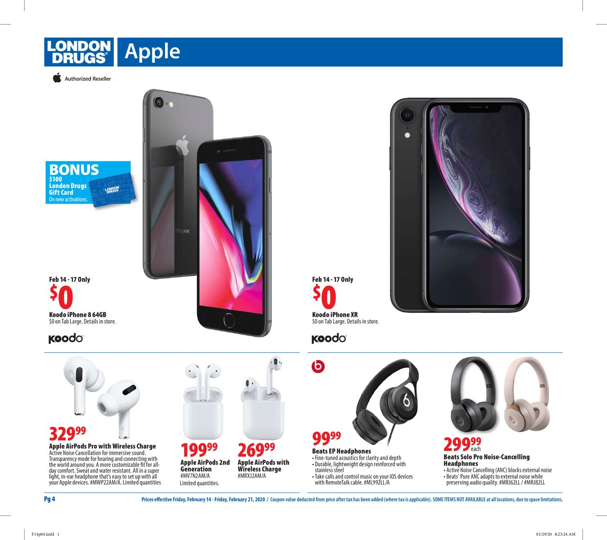 London Drugs Flyer - 02/14-02/21/2020 (Page 4)