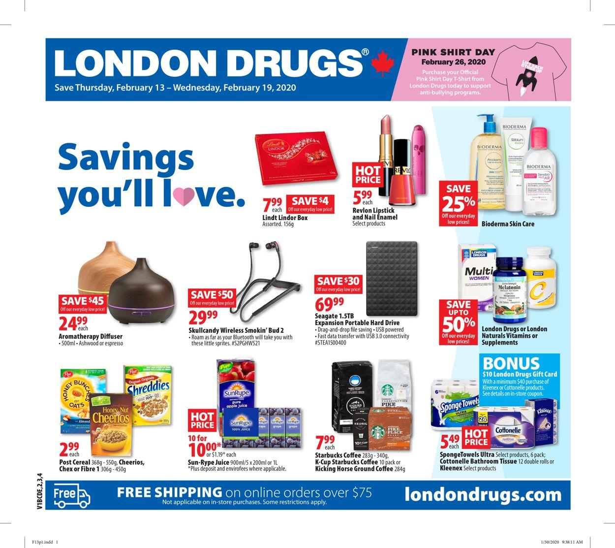 London Drugs Flyer - 02/13-02/19/2020