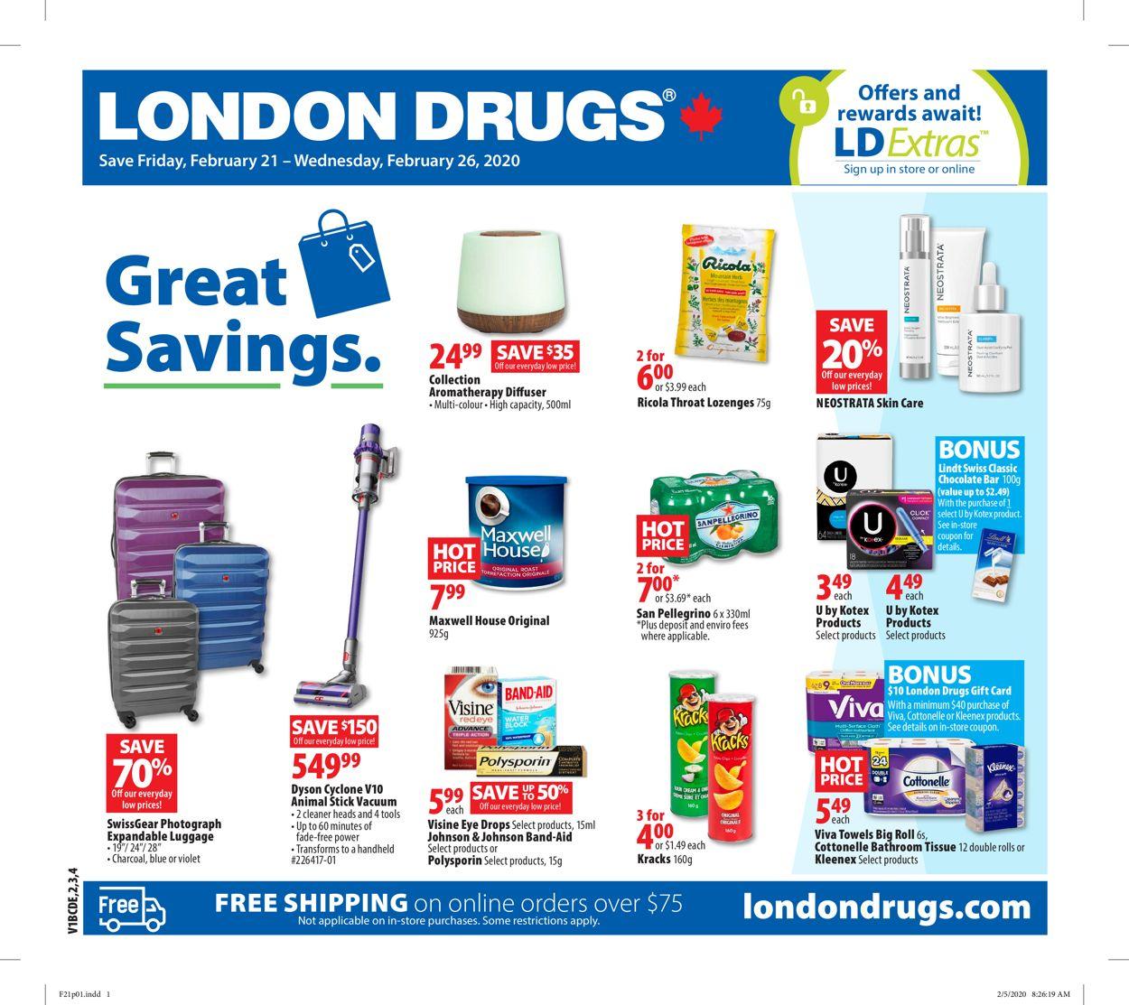 London Drugs Flyer - 02/21-02/26/2020