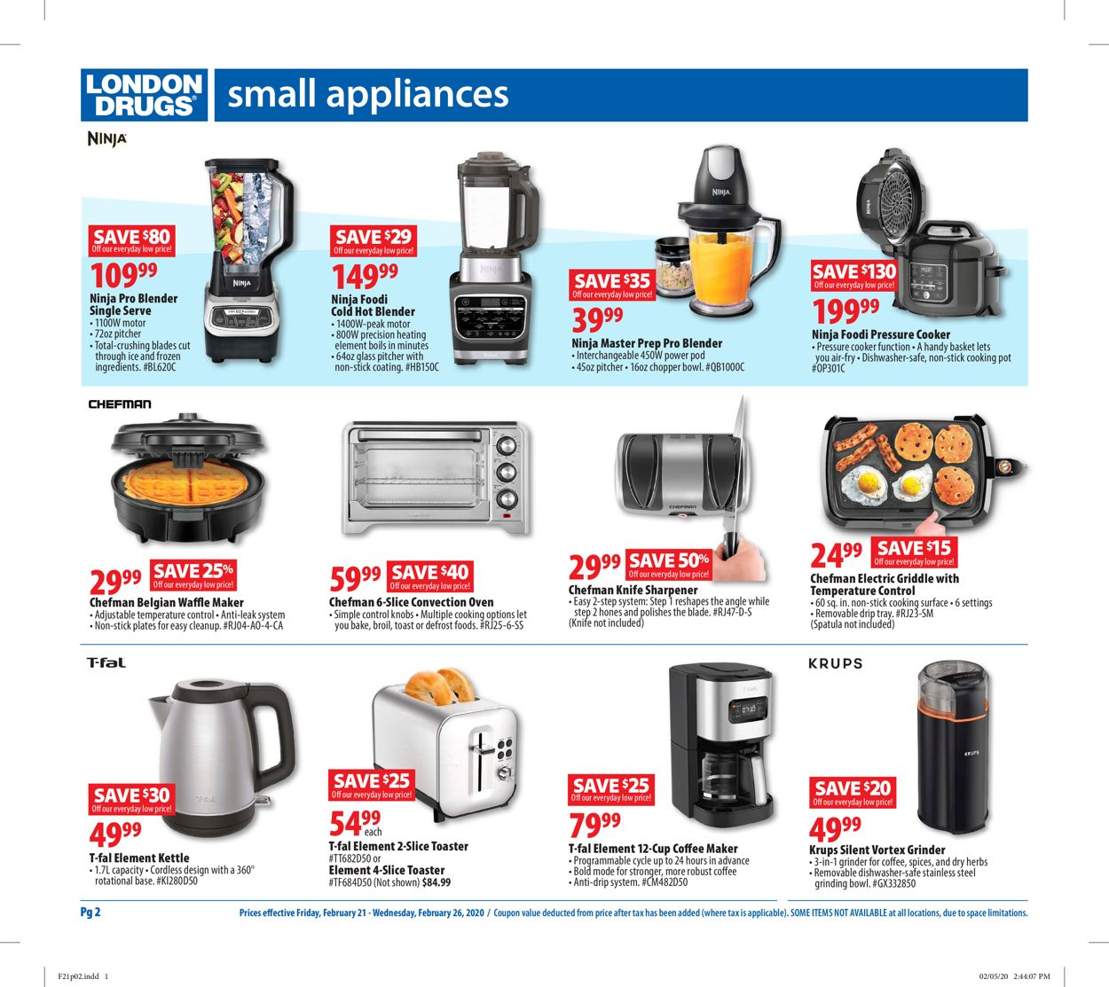 London Drugs Flyer - 02/21-02/26/2020 (Page 2)