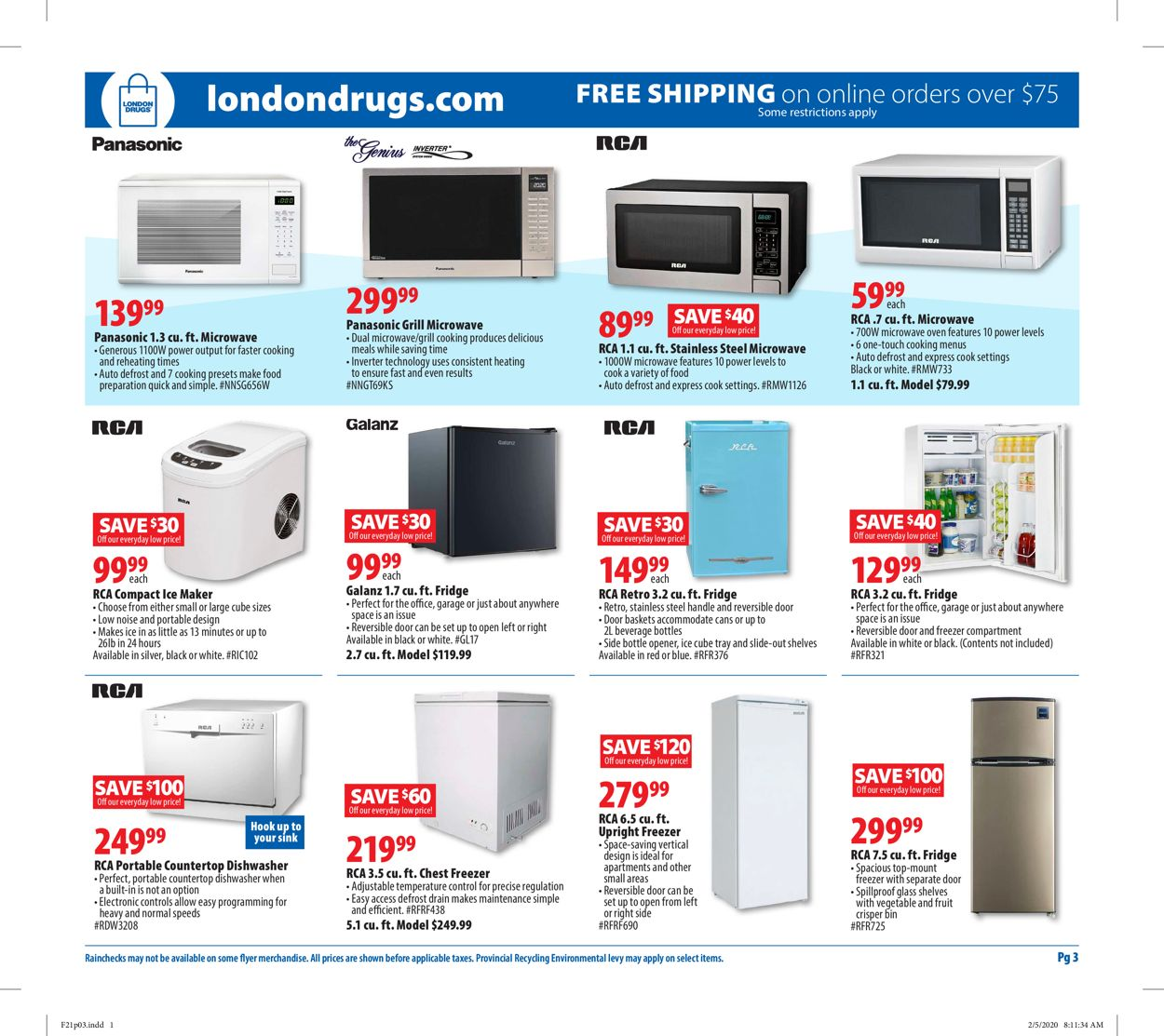 London Drugs Flyer - 02/21-02/26/2020 (Page 3)