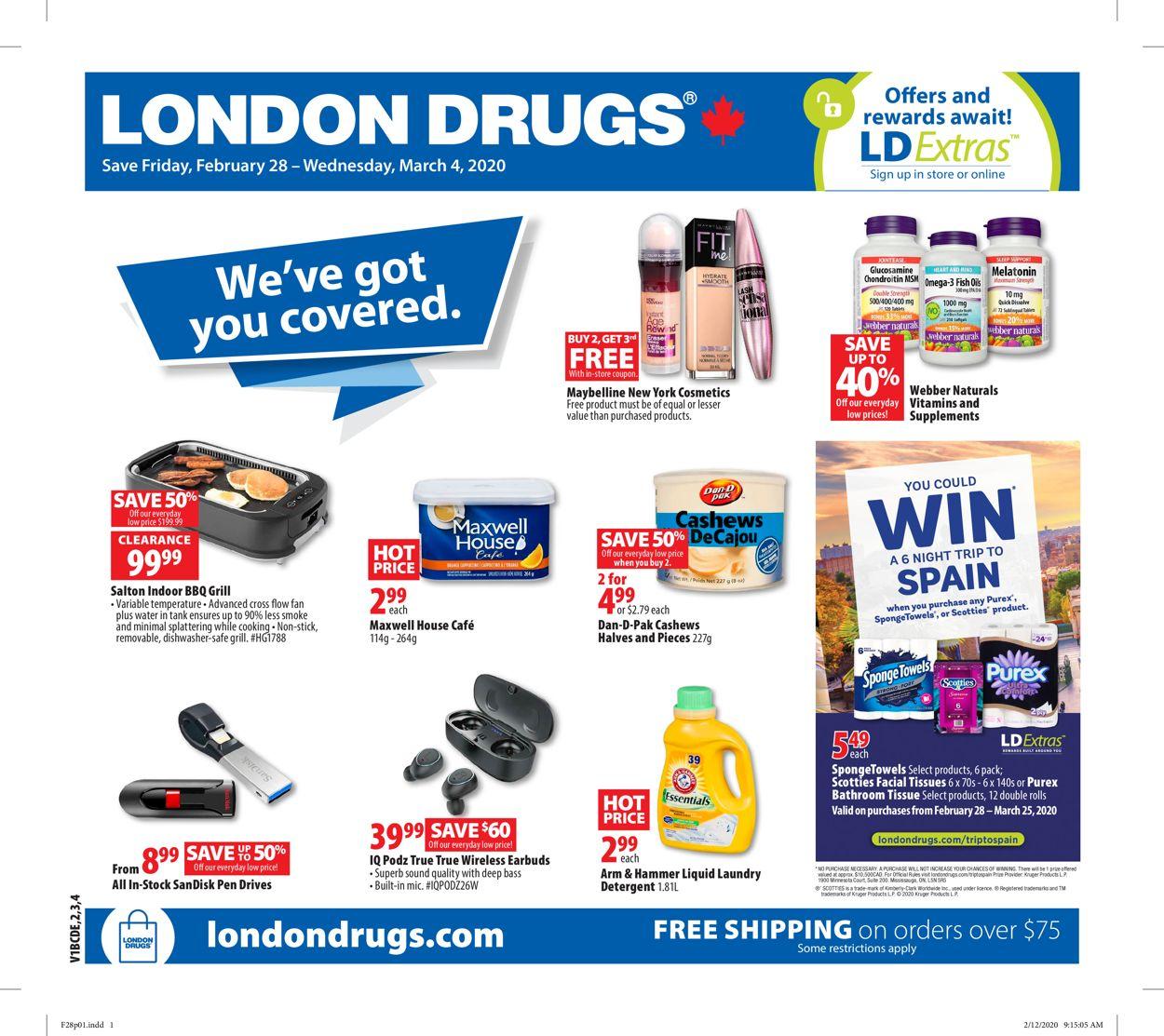 London Drugs Flyer - 02/28-03/04/2020