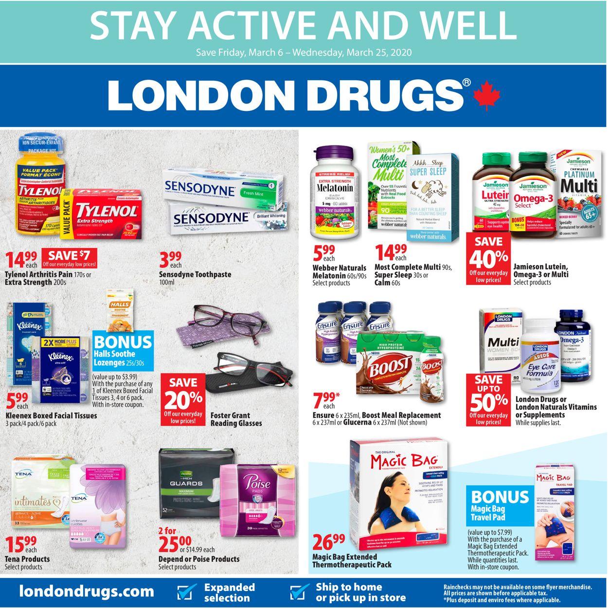 London Drugs Flyer - 03/06-03/25/2020