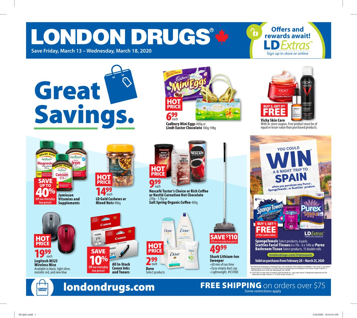 London Drugs Flyer - 03/13-03/18/2020