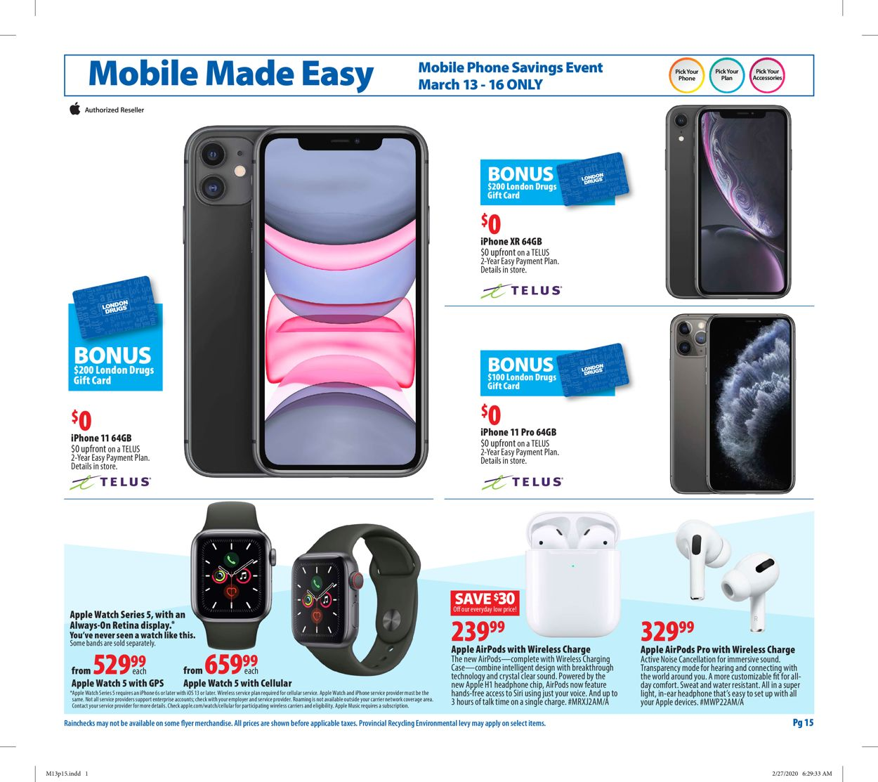 London Drugs Flyer - 03/13-03/18/2020 (Page 15)
