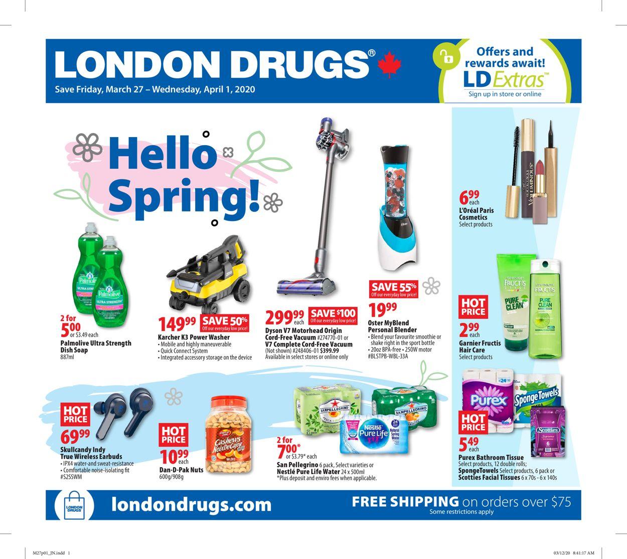 London Drugs Flyer - 03/27-04/01/2020