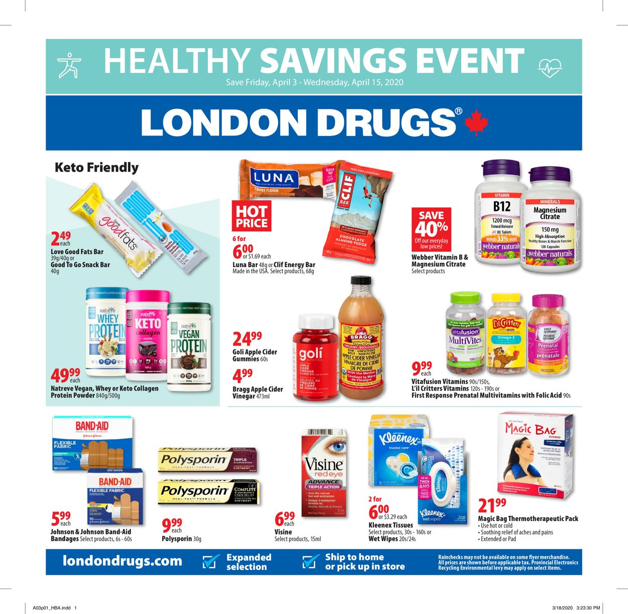 London Drugs Flyer - 04/03-04/15/2020