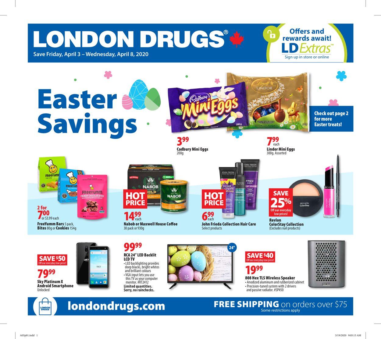 London Drugs Flyer - 04/03-04/08/2020