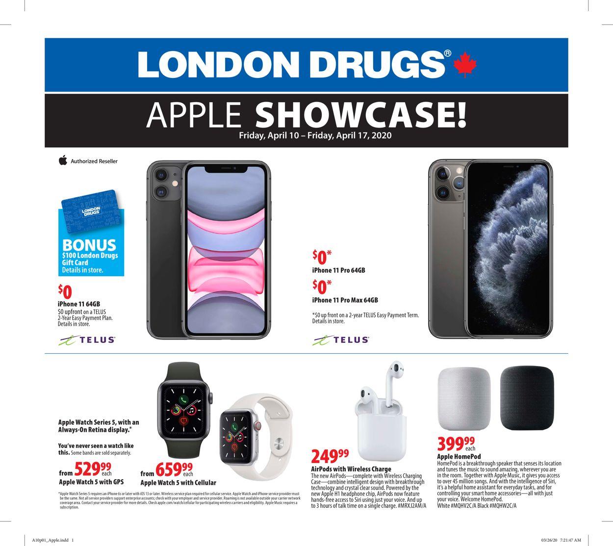 London Drugs Flyer - 04/10-04/17/2020