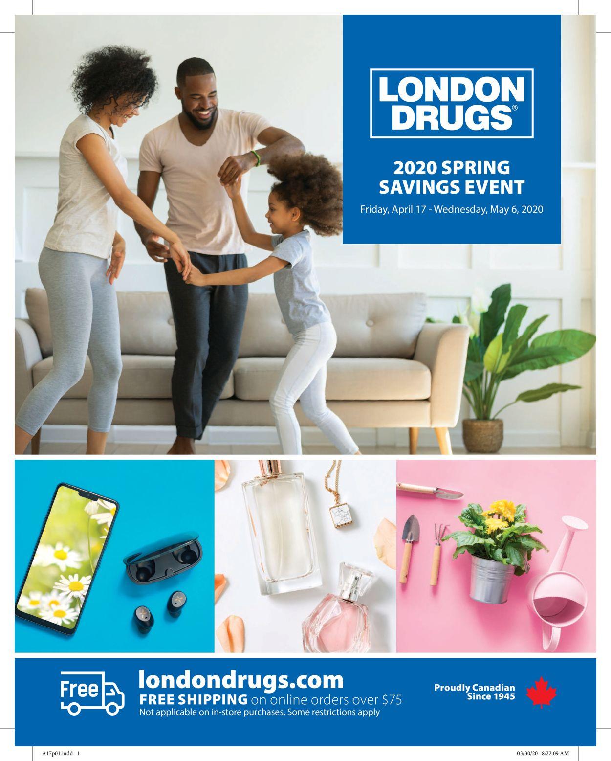 London Drugs Flyer - 04/17-05/06/2020