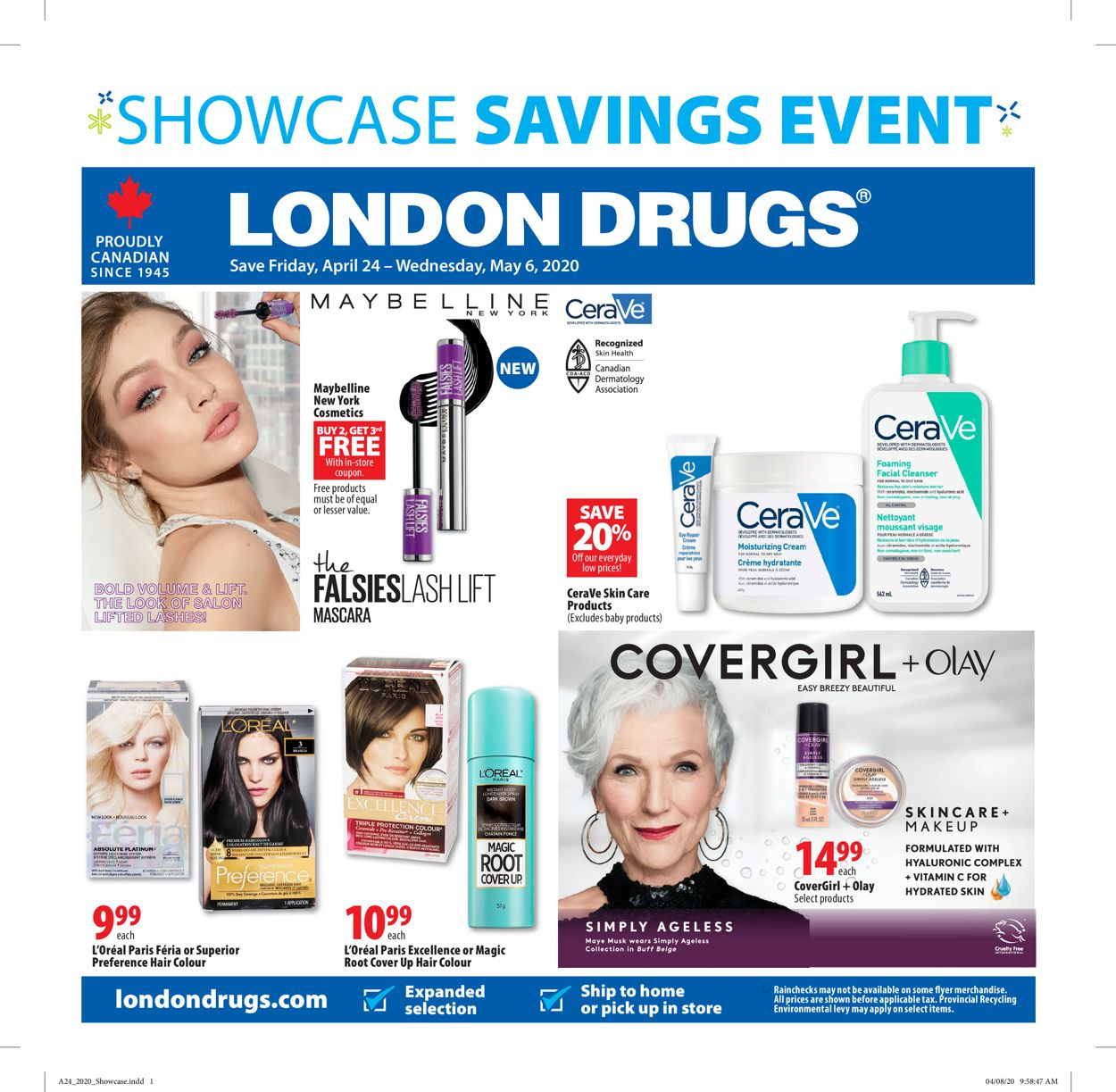 London Drugs Flyer - 04/24-05/06/2020