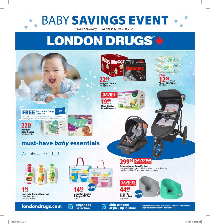 London Drugs Flyer - 05/01-05/20/2020