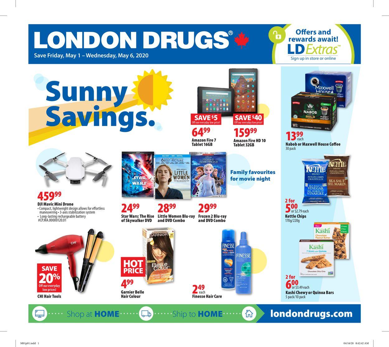 London Drugs Flyer - 05/01-05/06/2020