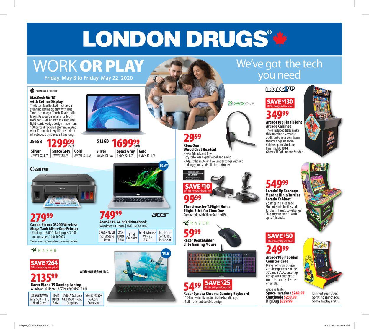 London Drugs Flyer - 05/08-05/22/2020