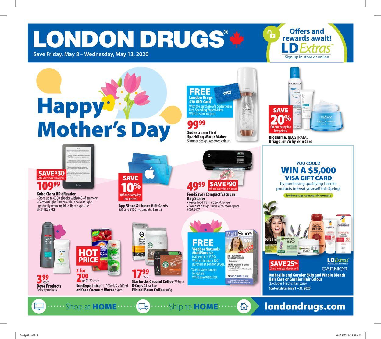 London Drugs Flyer - 05/08-05/13/2020