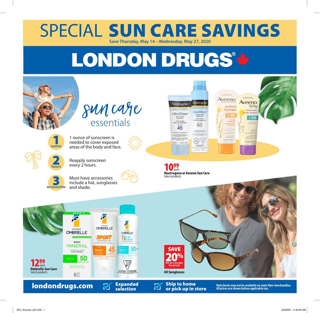 London Drugs Flyer - 05/14-05/27/2020