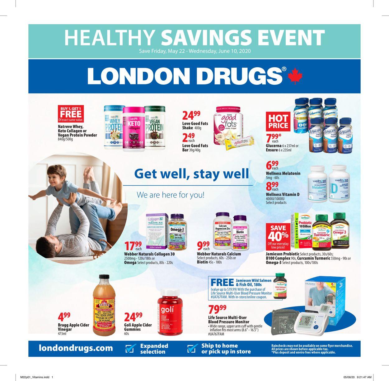 London Drugs Flyer - 05/22-06/10/2020