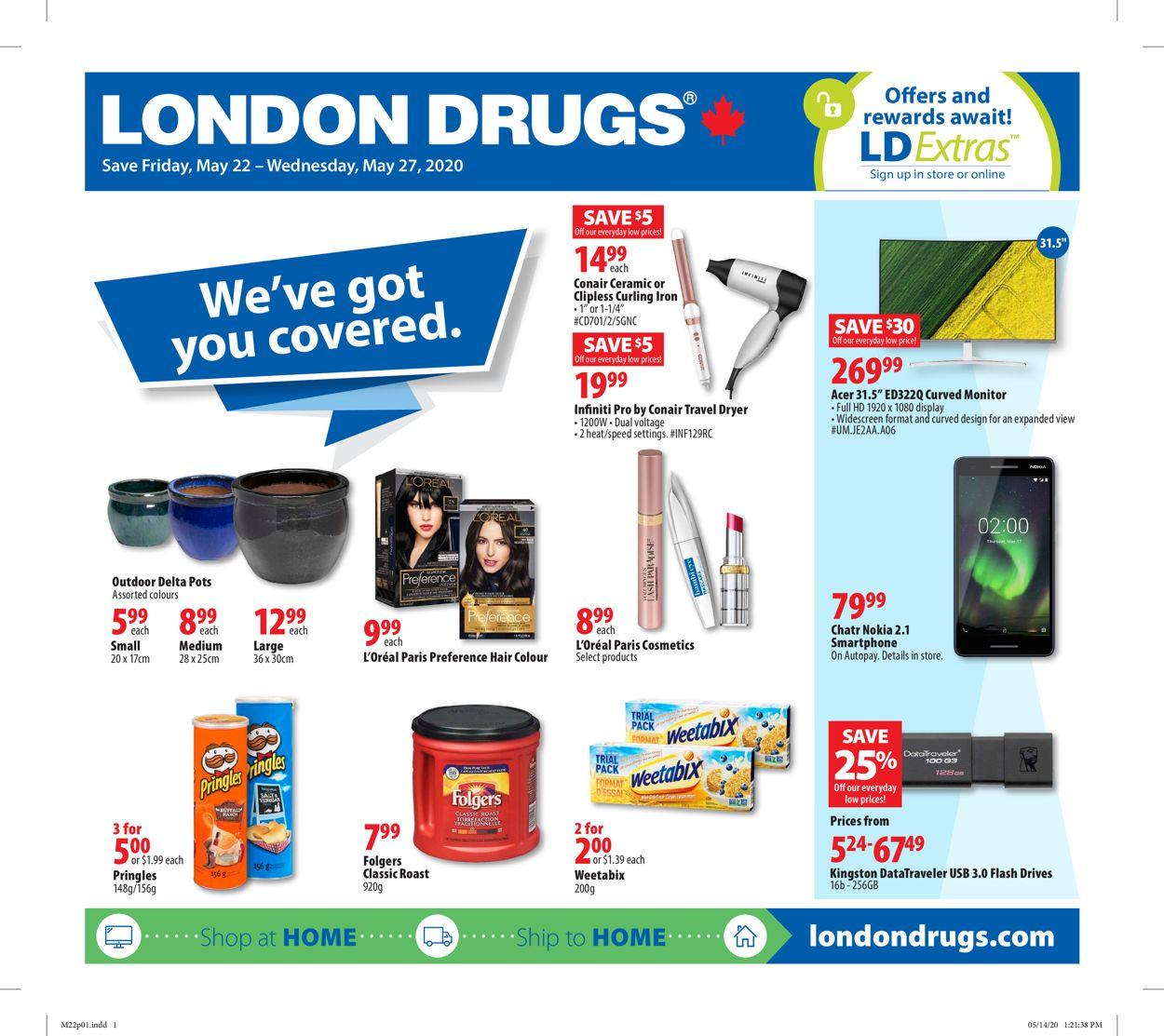 London Drugs Flyer - 05/22-05/27/2020