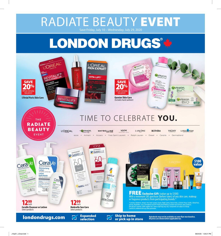 London Drugs Flyer - 07/10-07/29/2020