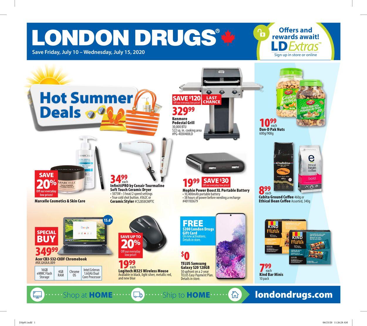 London Drugs Flyer - 07/10-07/15/2020