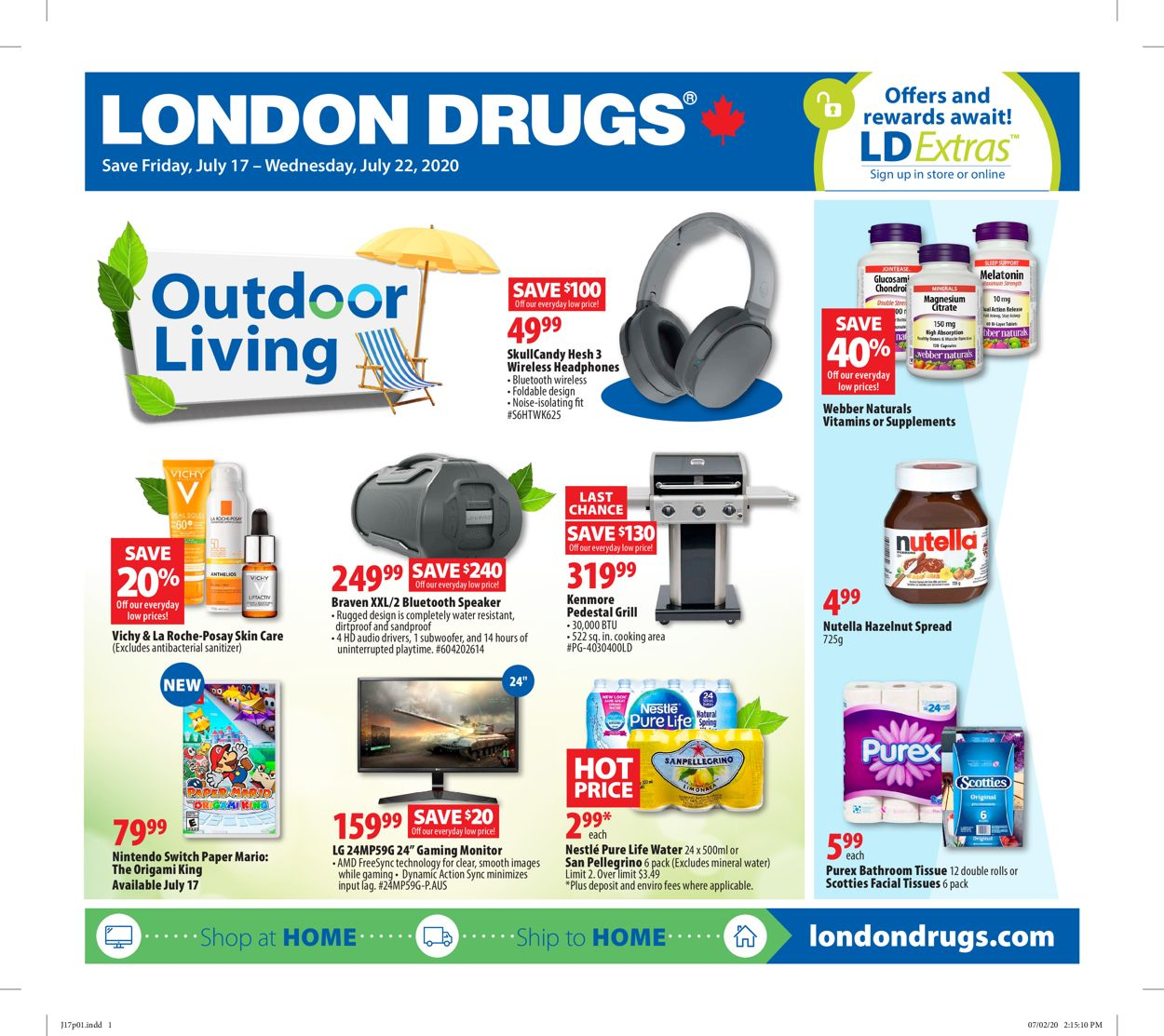 London Drugs Flyer - 07/17-07/22/2020