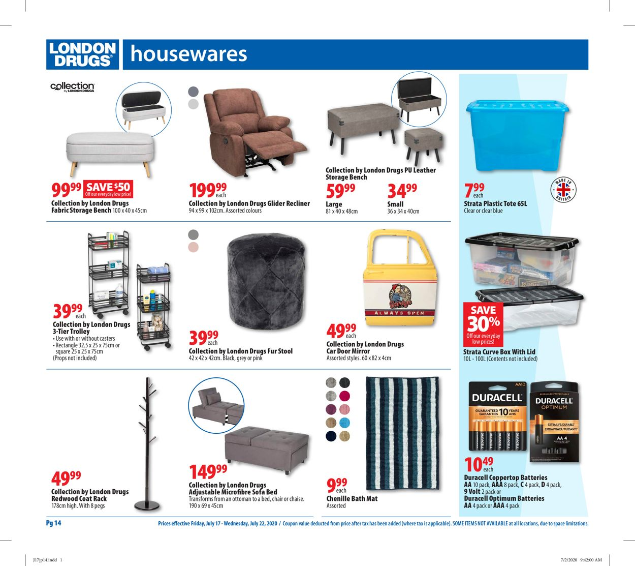 London Drugs Flyer - 07/17-07/22/2020 (Page 15)