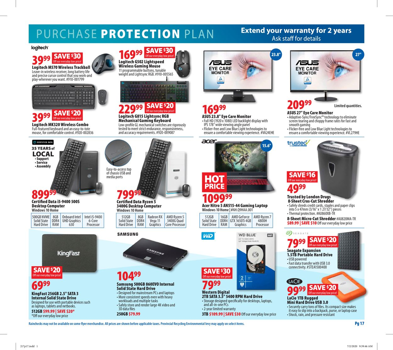 London Drugs Flyer - 07/17-07/22/2020 (Page 19)