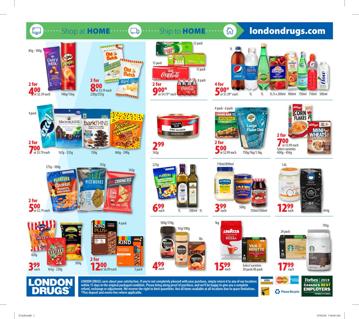 London Drugs Flyer - 07/17-07/22/2020 (Page 22)
