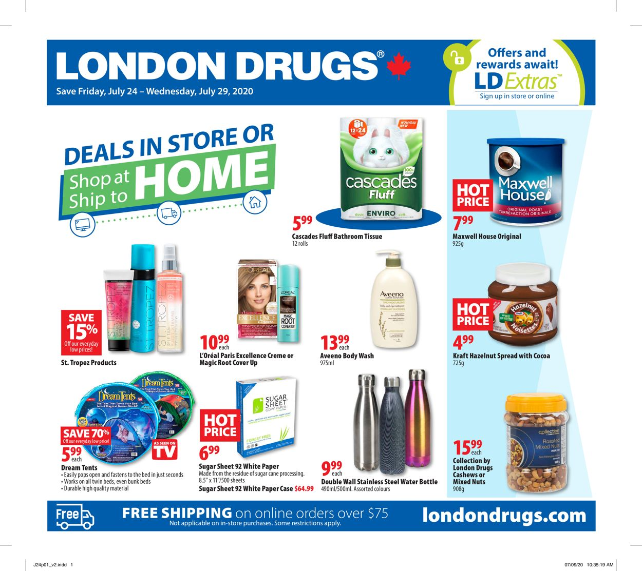 London Drugs Flyer - 07/24-07/29/2020