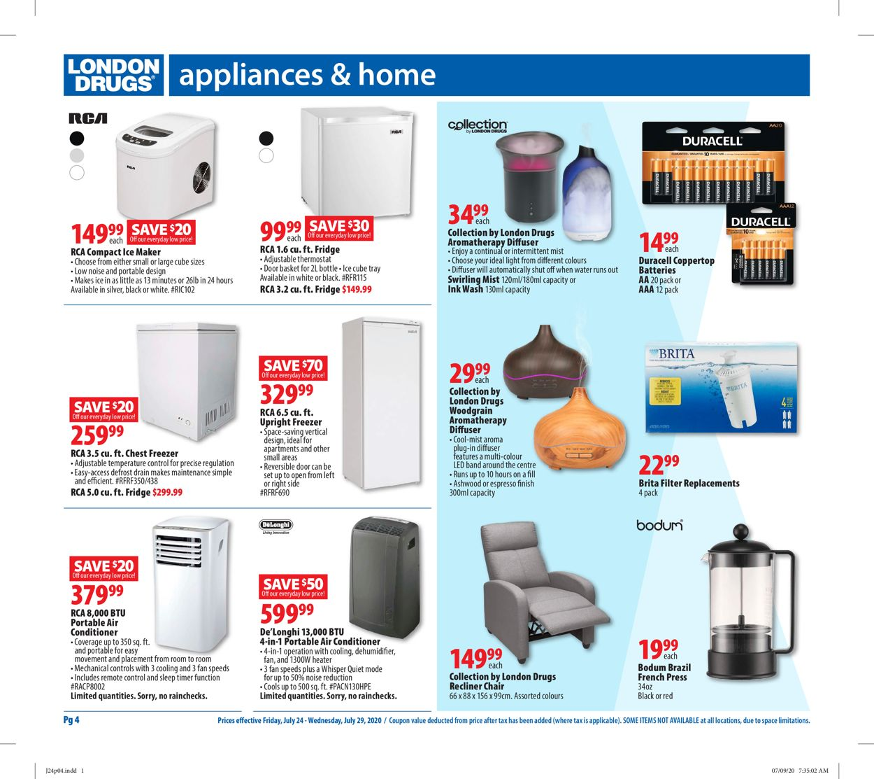 London Drugs Flyer - 07/24-07/29/2020 (Page 6)