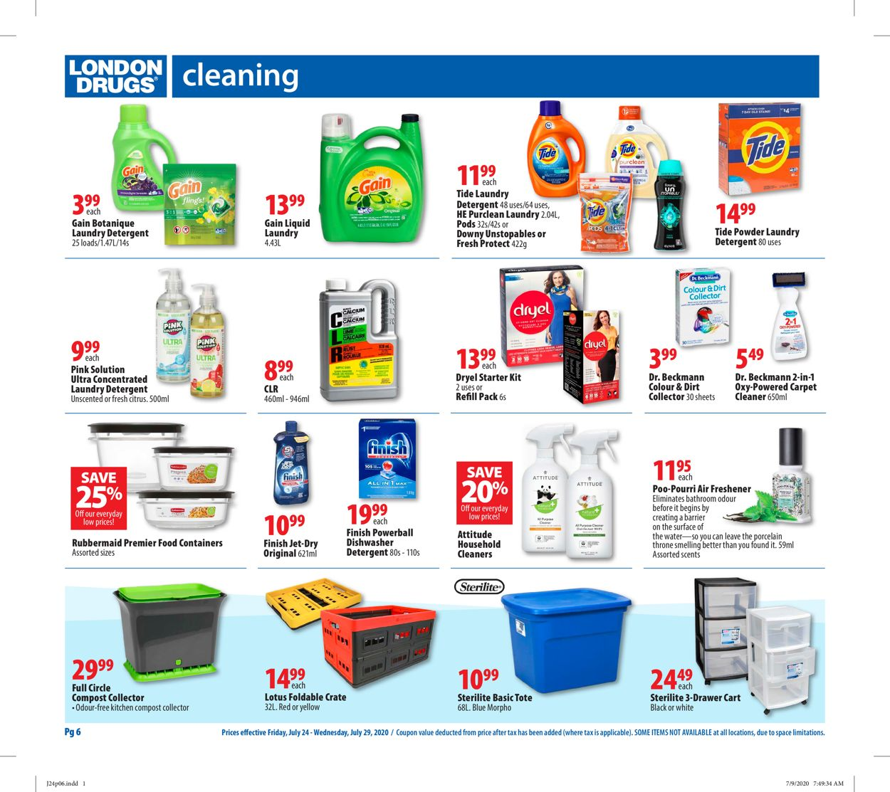 London Drugs Flyer - 07/24-07/29/2020 (Page 8)