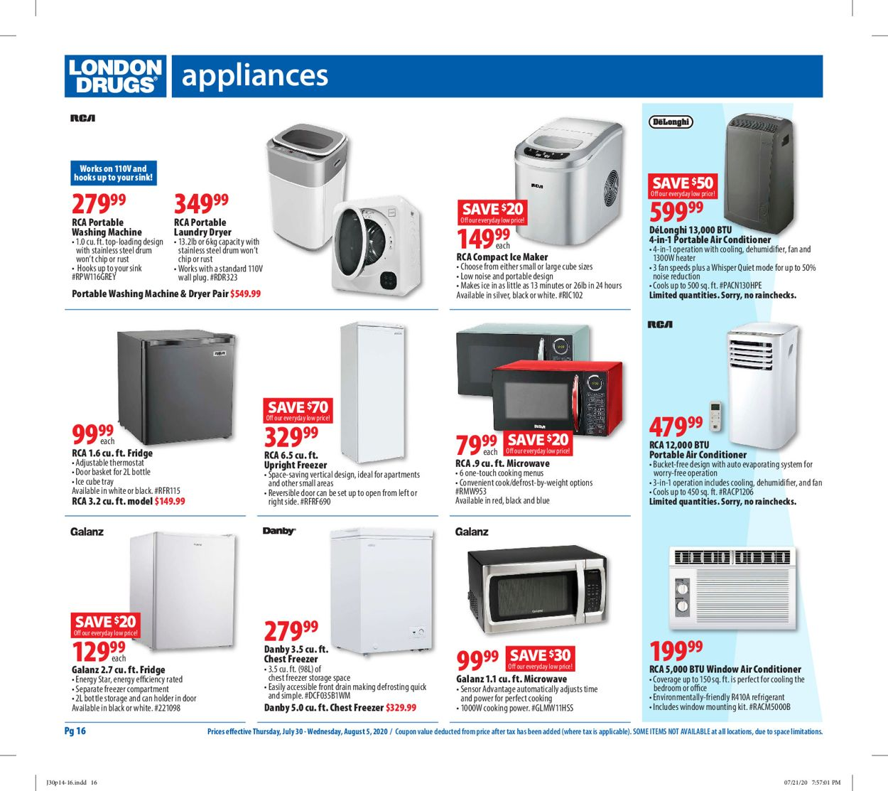 London Drugs Flyer - 07/30-08/05/2020 (Page 18)