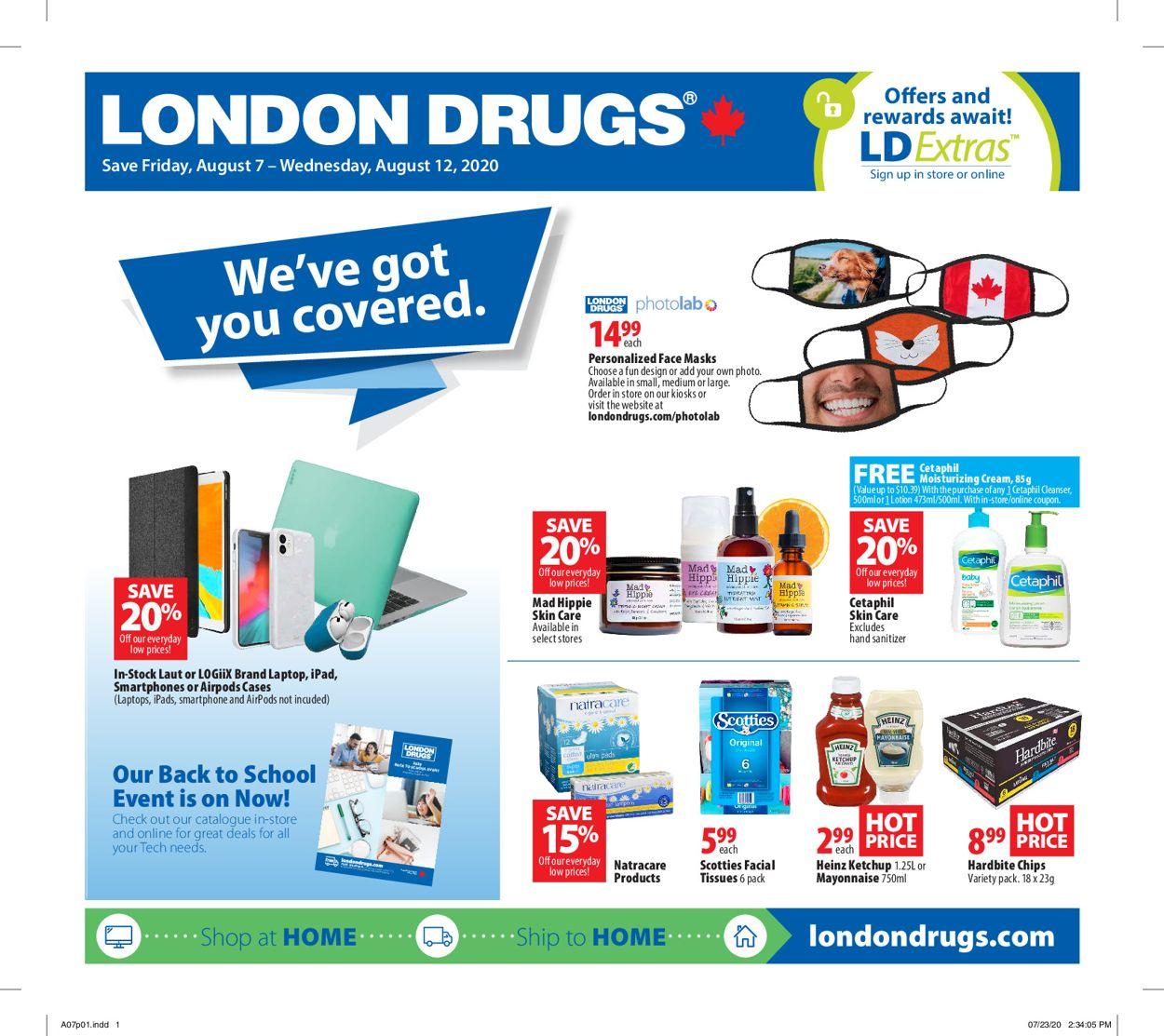 London Drugs Flyer - 08/07-08/12/2020