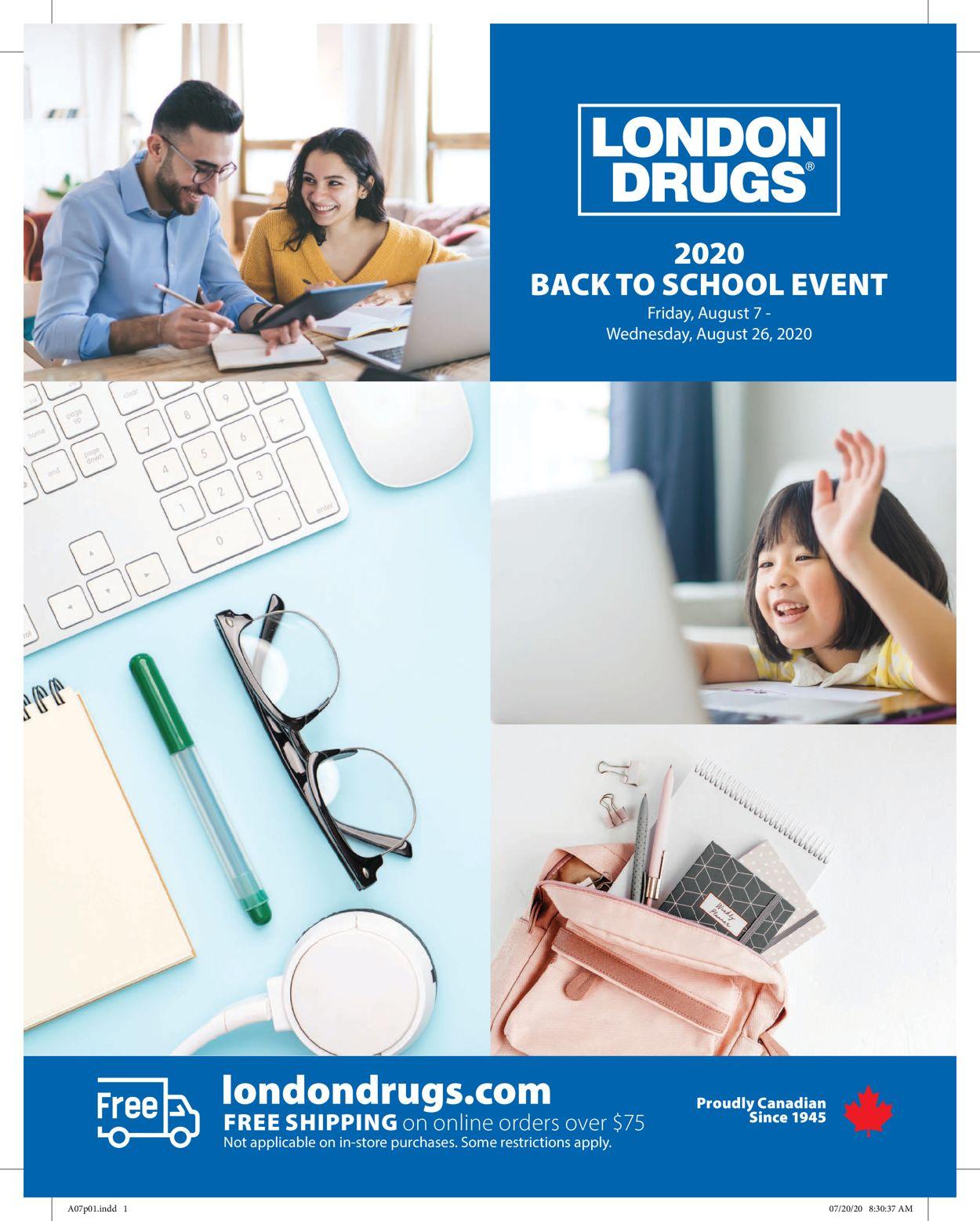 London Drugs Flyer - 08/07-08/26/2020