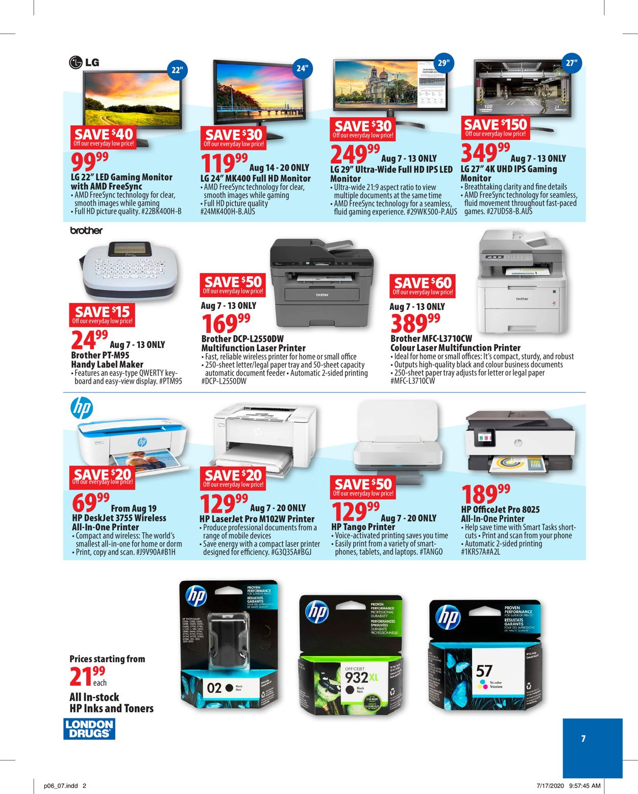London Drugs Flyer - 08/07-08/26/2020 (Page 7)