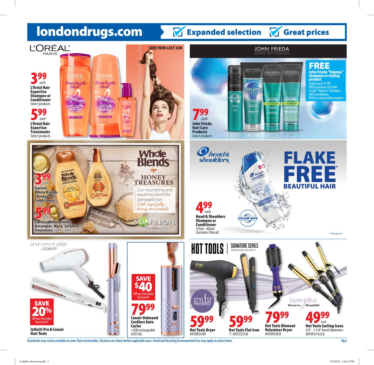 London Drugs Flyer - 08/14-08/26/2020 (Page 3)