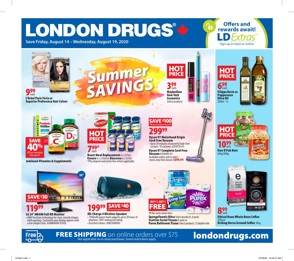 London Drugs Flyer - 08/14-08/19/2020