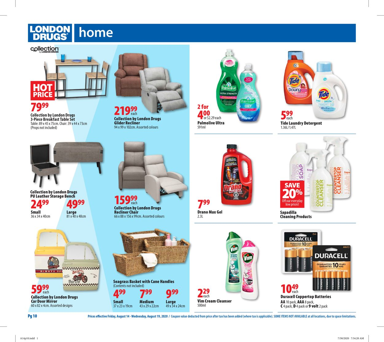 London Drugs Flyer - 08/14-08/19/2020 (Page 12)