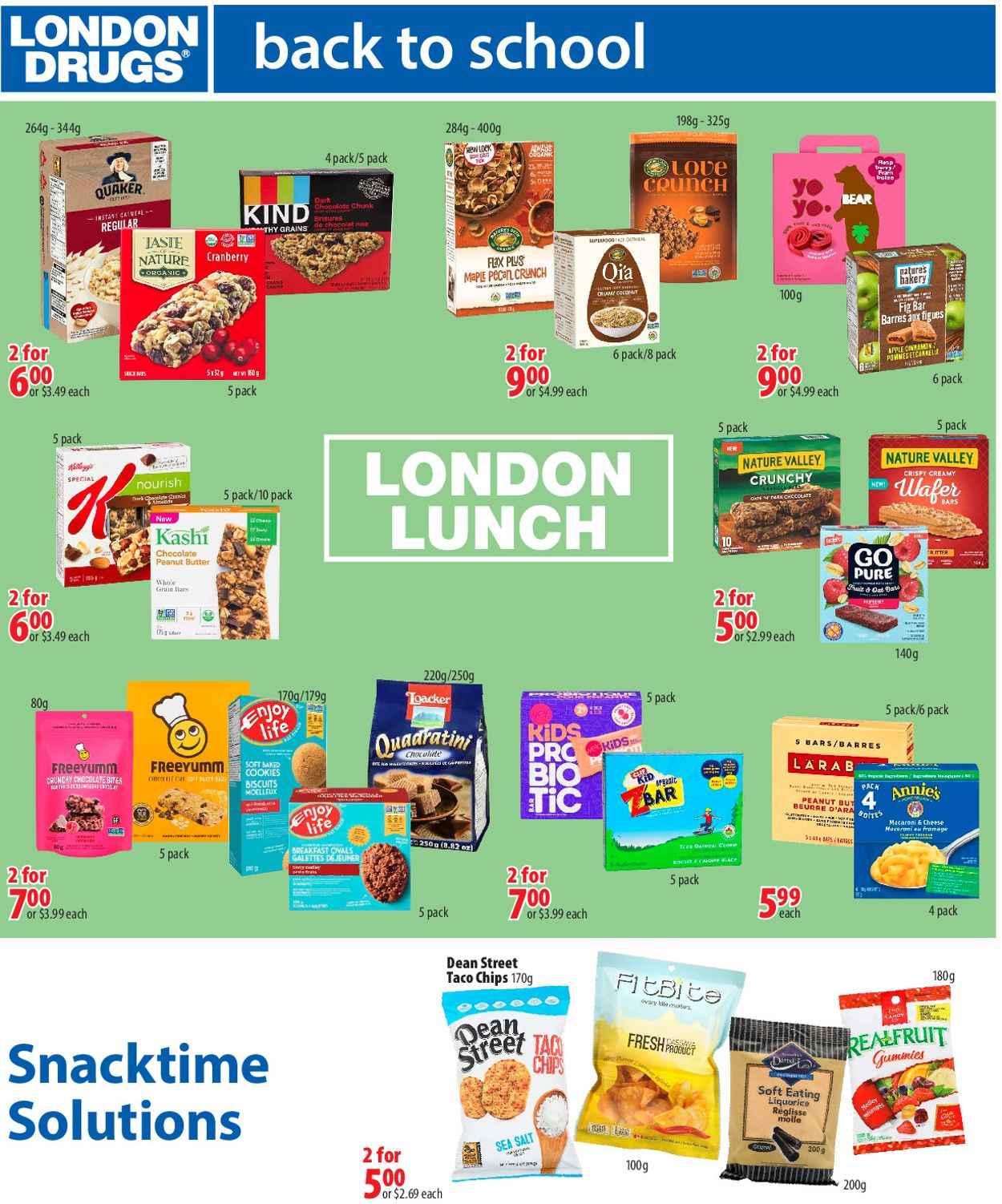 London Drugs Flyer - 08/14-09/09/2020 (Page 7)