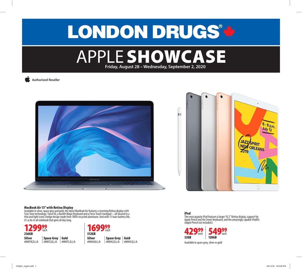 London Drugs Flyer - 08/28-09/02/2020