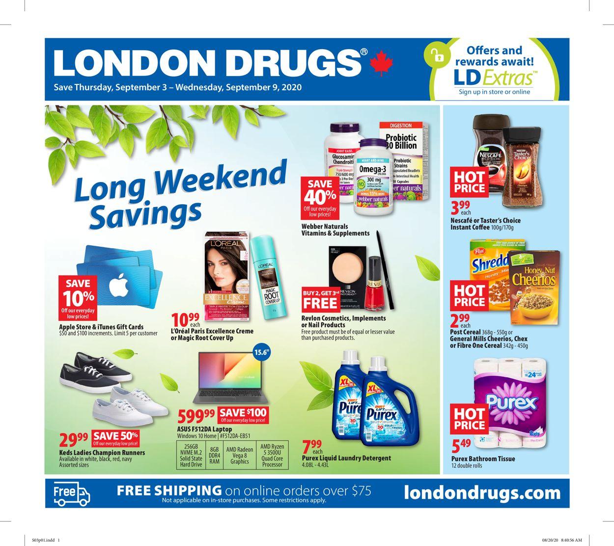 London Drugs Flyer - 09/03-09/09/2020