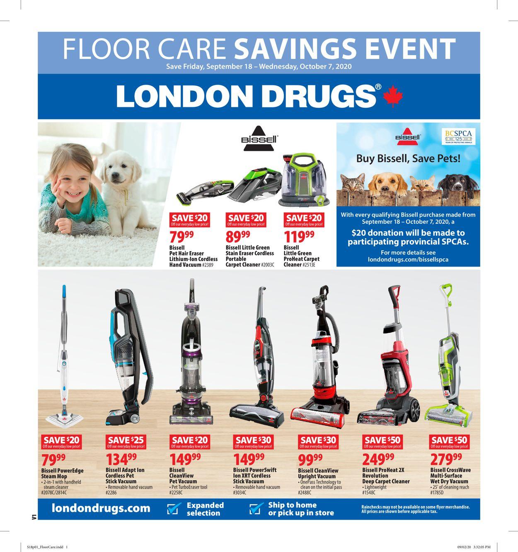 London Drugs Flyer - 09/18-10/07/2020