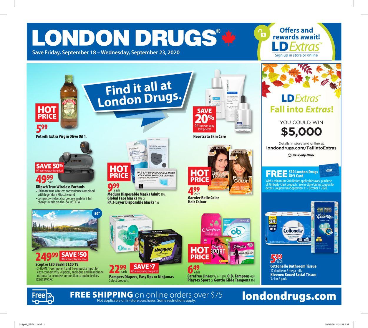 London Drugs Flyer - 09/18-09/23/2020