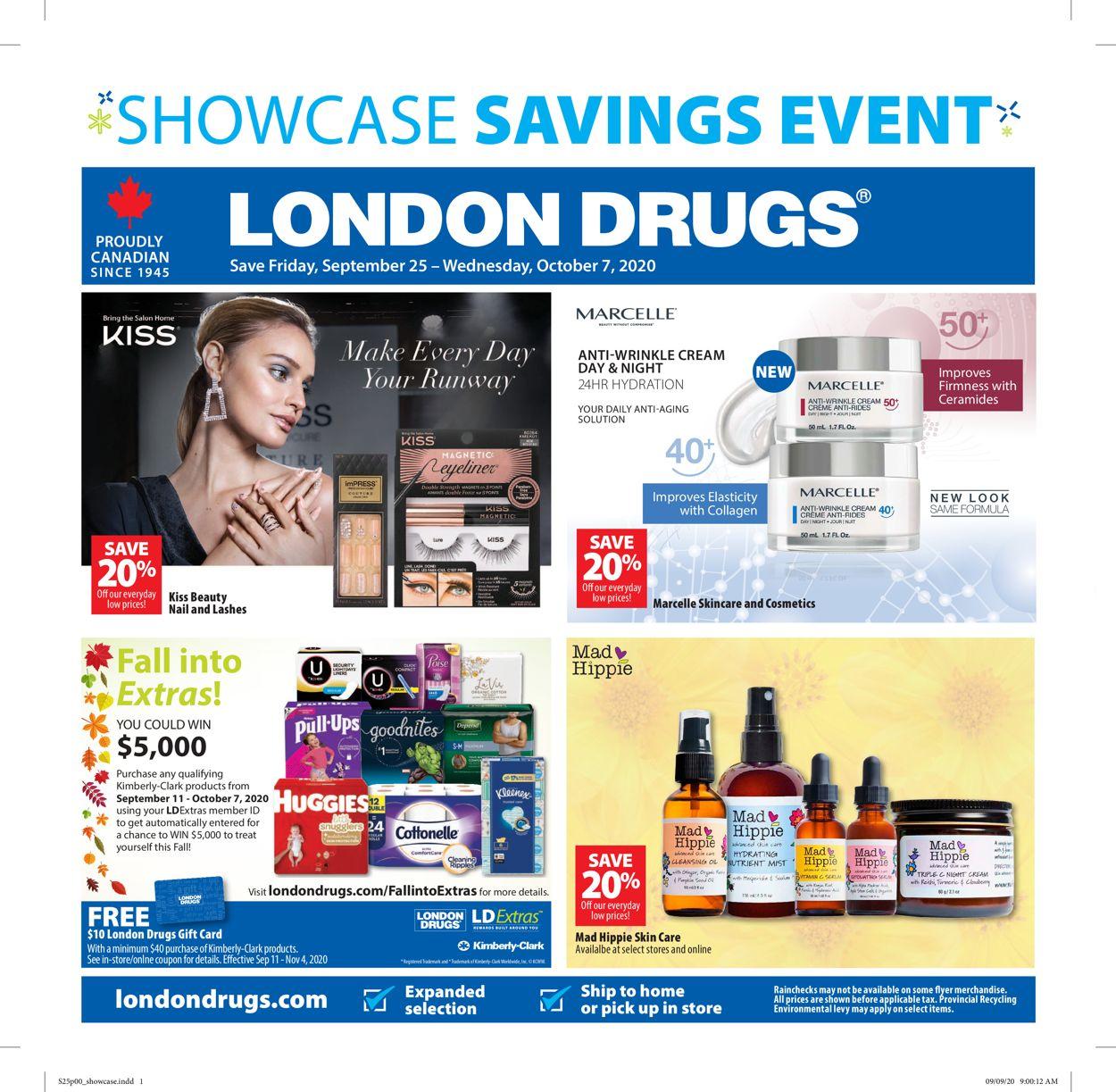 London Drugs Flyer - 09/25-10/07/2020