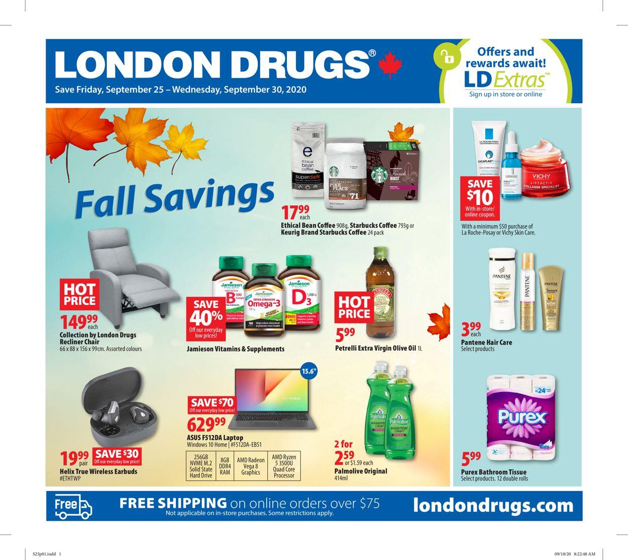 London Drugs Flyer - 09/25-09/30/2020