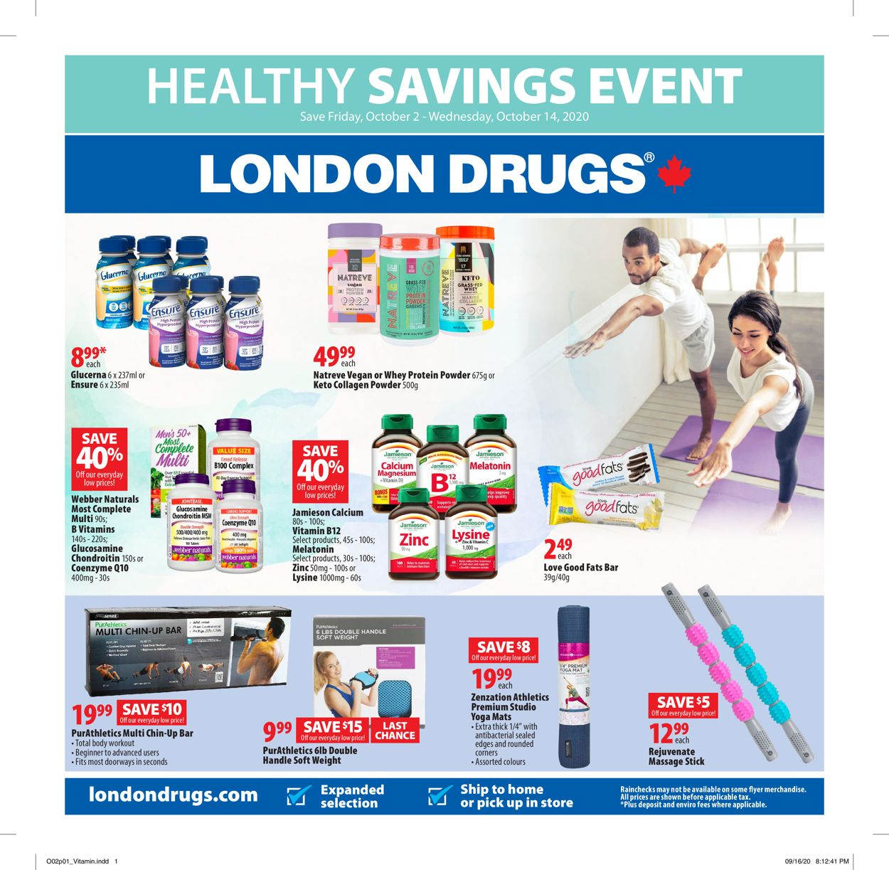 London Drugs Flyer - 10/02-10/14/2020