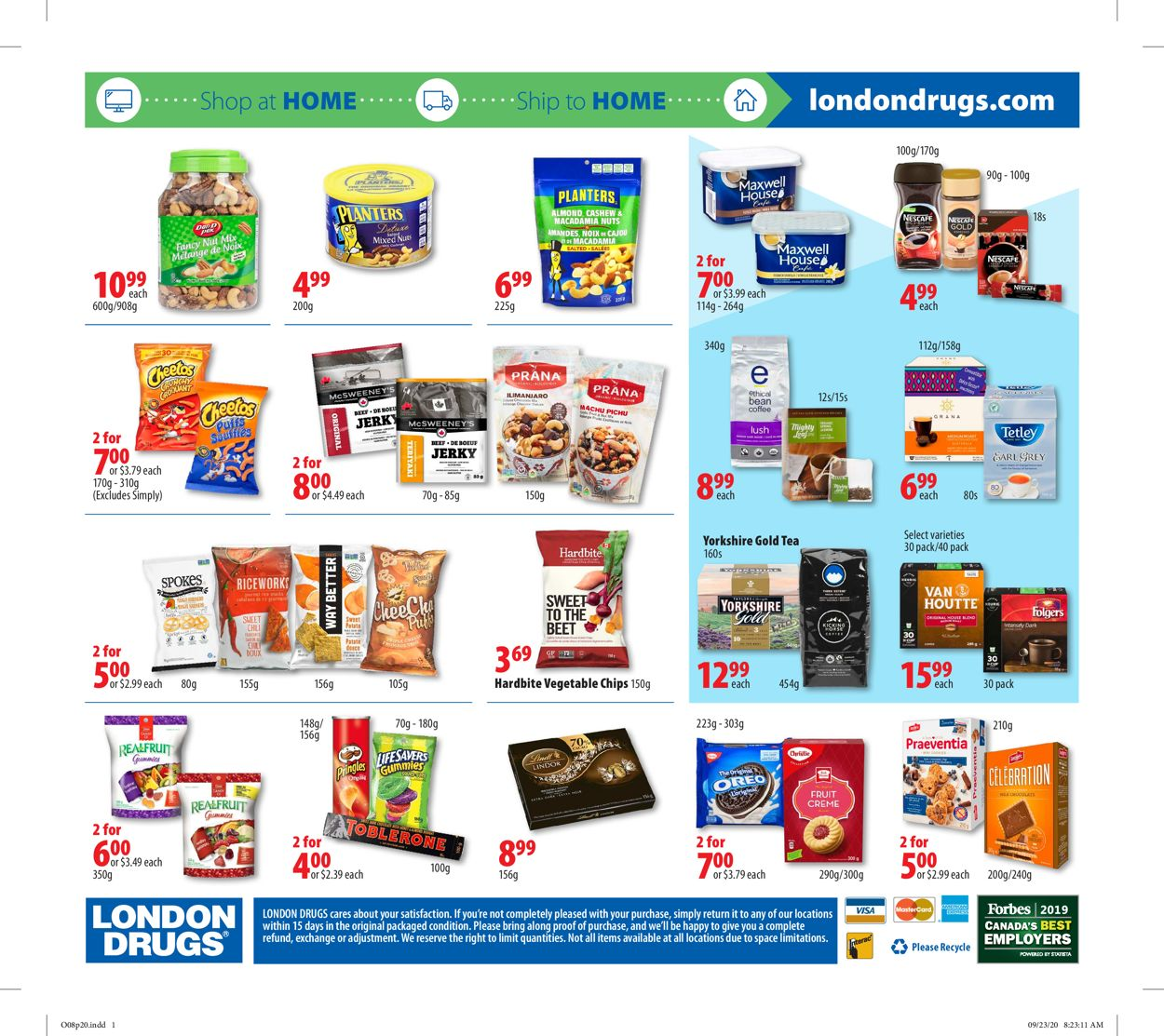London Drugs Flyer - 10/08-10/14/2020 (Page 22)